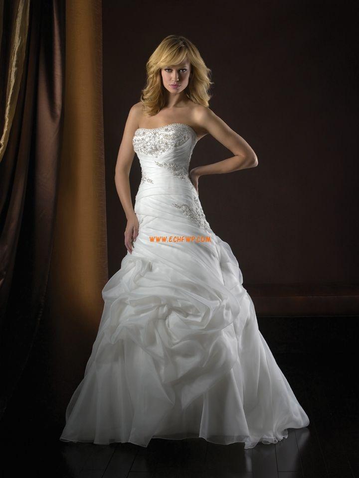 Jaro 2014 Elegantní & luxusní Přírodní Svatební šaty 2013