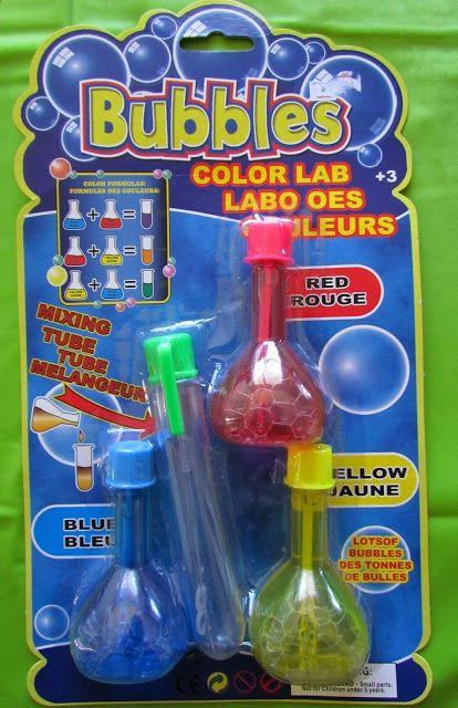 Loot Bag goodies - Mad Scientist Party