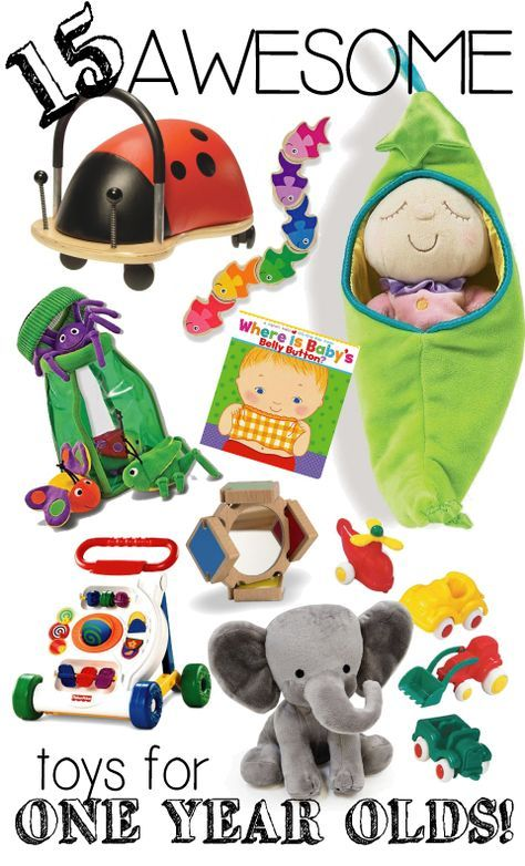One year old Gift Ideas. Presents for birthdays or Christmas.