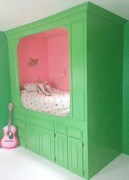 built in bed repurpose kitchen cabinets, diy, kitchen cabinets, kitchen design