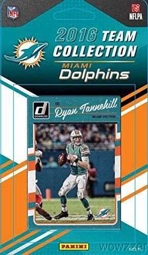 Miami Dolphins 2016 Donruss NFL Football Factory Sealed Limited Edition 12 Card Complete Team Set with Ryan Tannehill, Ndamukong Suh,…