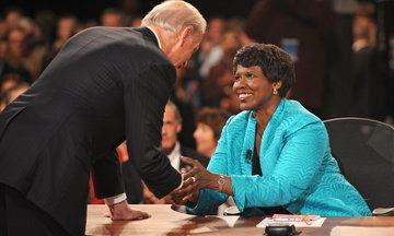 """""""She was the most American of success stories."""" - Sherrilyn Ifill Gwen Ifill's Funeral Was A Revival Meeting For America."""