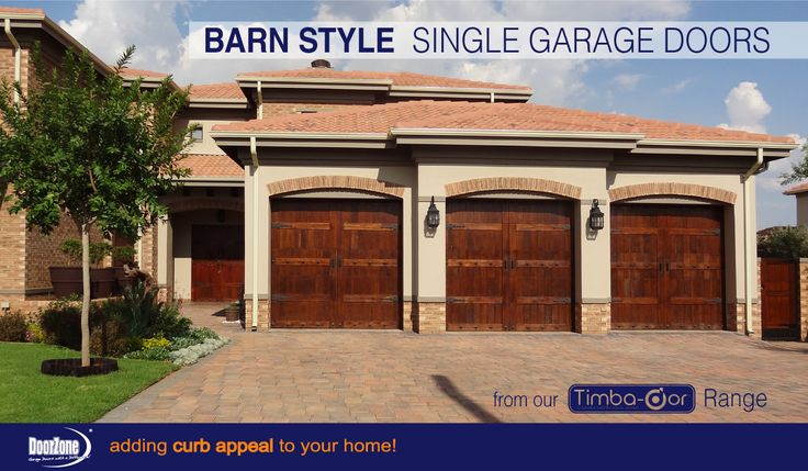 Have a Farm Style home and in need of the perfect style garage doors to compliment the architectural look of your home? Our Barn Style sectional garage doors from our Timba-dor™ range featuring decorative hardware from KramDecor, will definitely finish off your country look and feel of your home. www.doorzonesa.com
