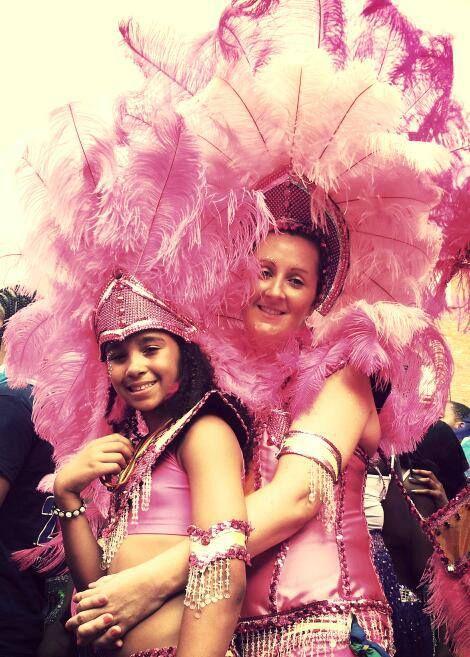 Carnival love . Notting Hill Carnival 2013 .