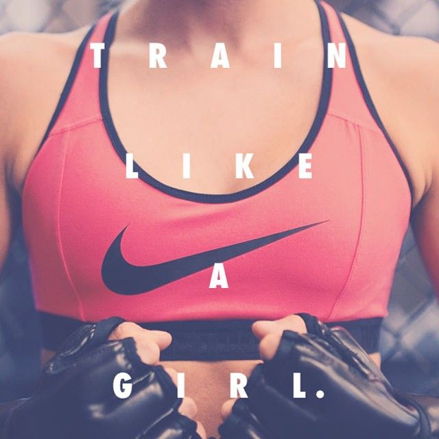 Train Like A Girl- cause ovaries can take a beating but balls can't.