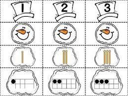 Image result for winter math activities for preschoolers