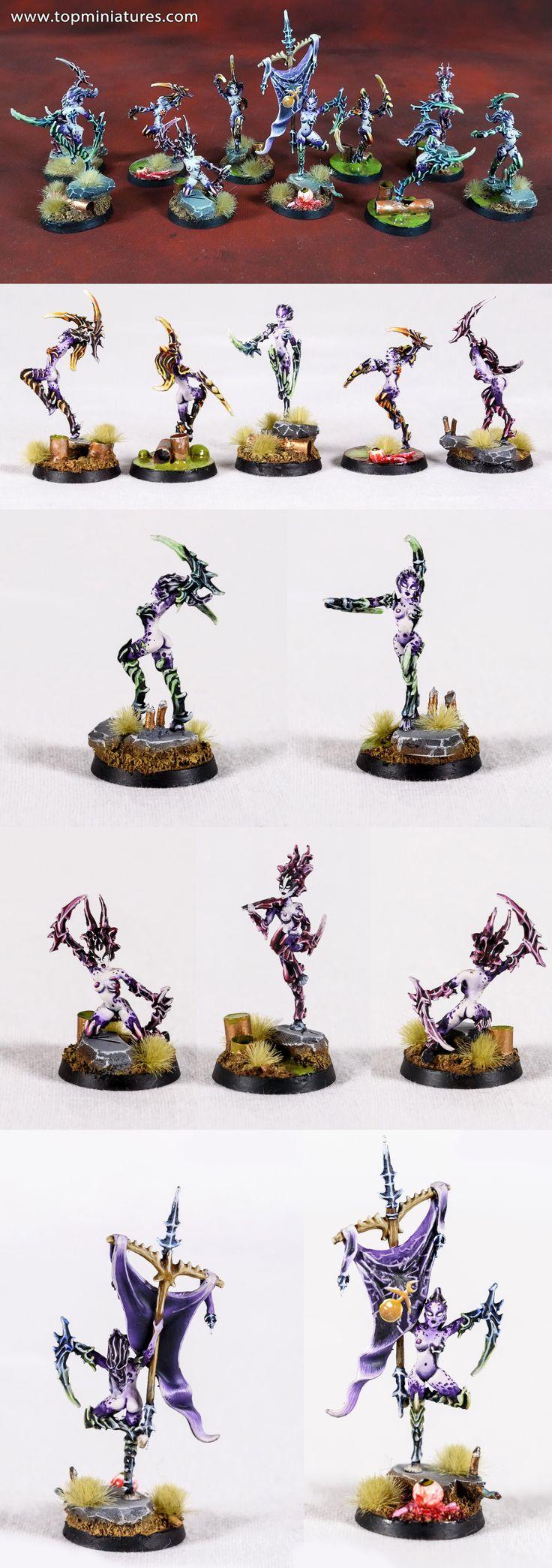 Warhammer 40k chaos daemons daemonettes of slaanesh