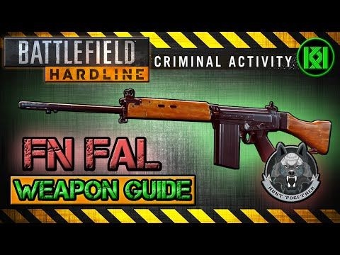 Battlefield Hardline FN FAL Review (Gameplay) Best Gun Setup | Weapon Guide (BFH) - http://freetoplaymmorpgs.com/battlefield-hardline-online/battlefield-hardline-fn-fal-review-gameplay-best-gun-setup-weapon-guide-bfh