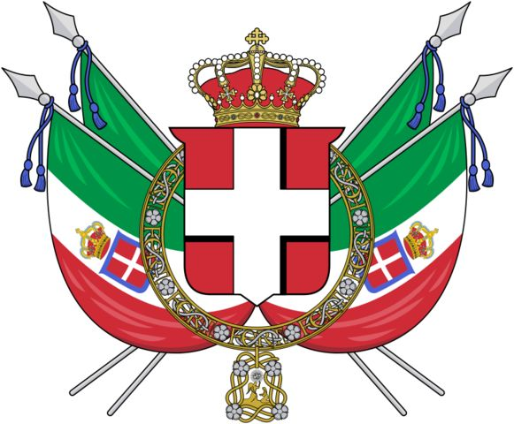 Coat of arms of the Kingdom of Italy (1848-1870)