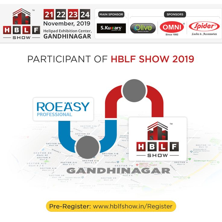 It is a pleasure to announce ROEASY as participant at the upcoming HBLF Show 2019