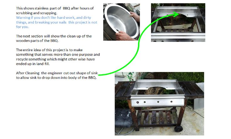 BBQ Recycle into Dye Bath / Table loom stand PART 02