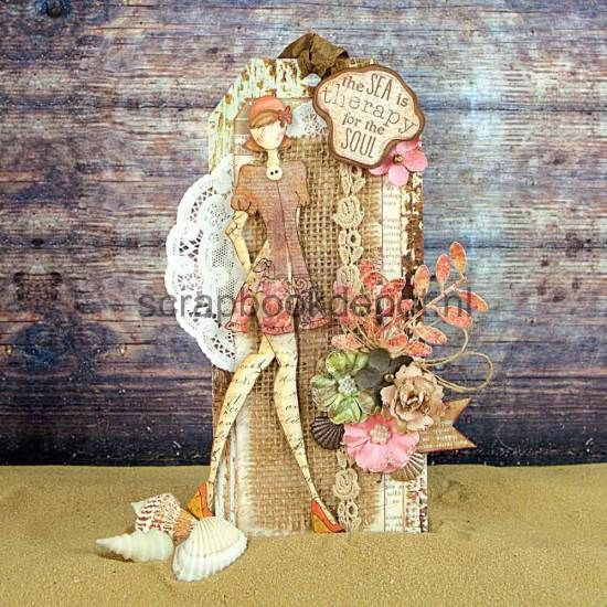 Scrapbookdepot - Julie Nutting Doll Cling Stamp - Suzi