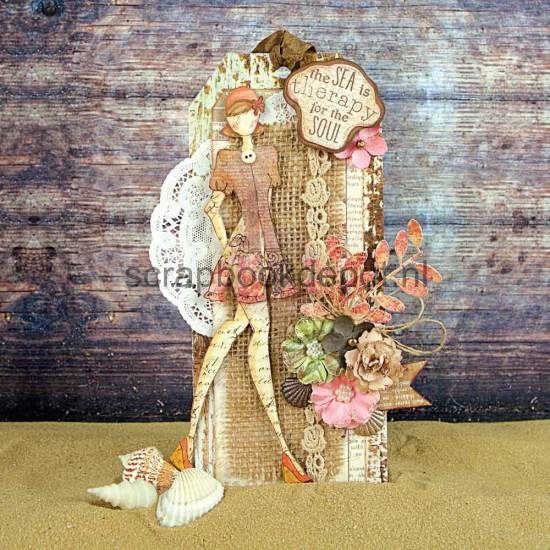 Scrapbookdepot - Julie Nutting Doll Cling Stamp - Suzi