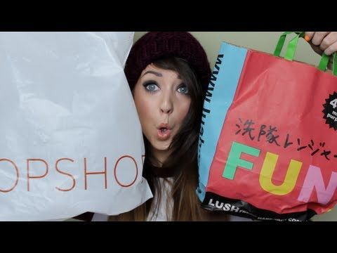 Collective Haul : Topshop, Lush, H, FeelUnique & AA   Zoella