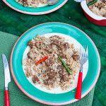 Bangladeshi Beef Tehari Recipe | তেহারী রেসিপি | With A Spin