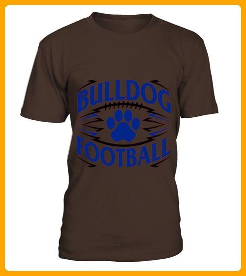 Men S Quot Bulldog Football Quot Tshirt For Football Fans 2xl Cranberry - Fan shirts (*Partner-Link)