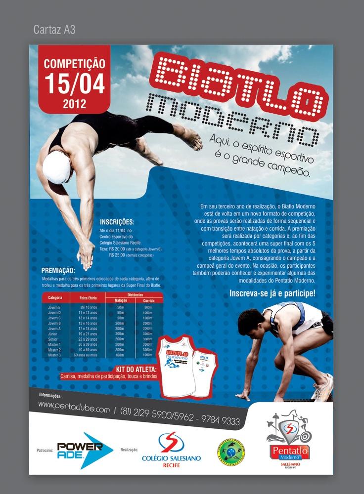 Campanha promocional para o Biatlo do Colégio Salesiano do Recife