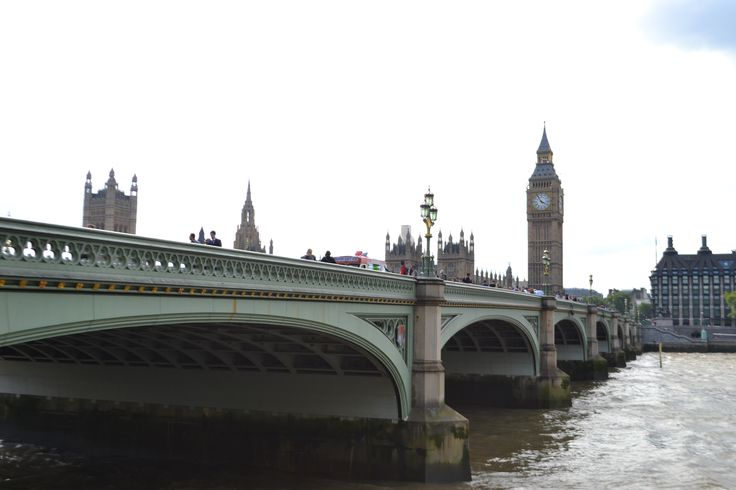 Westminster Bridge, ft. Big Ben