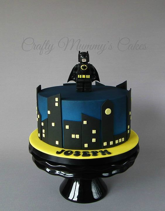 Lego Batman Cake Superhero Cakes Pinterest Lego