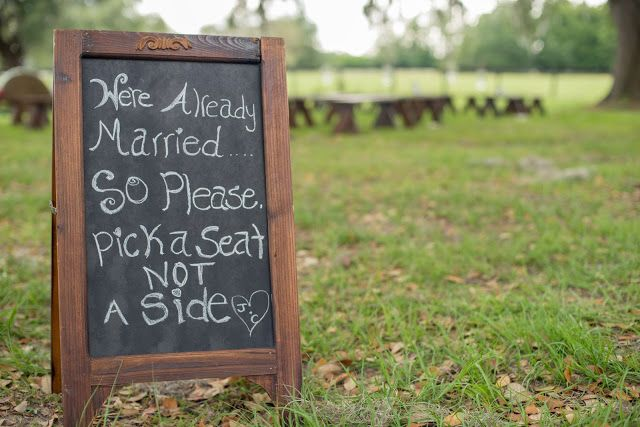 Was just thinking I wanted to have a sign like this. Vow renewal!