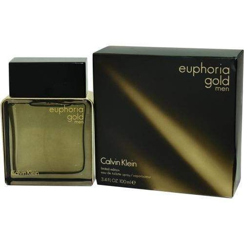 Euphoria Men Gold By Calvin Klein Edt Spray 3.4 Oz (limited Edition)