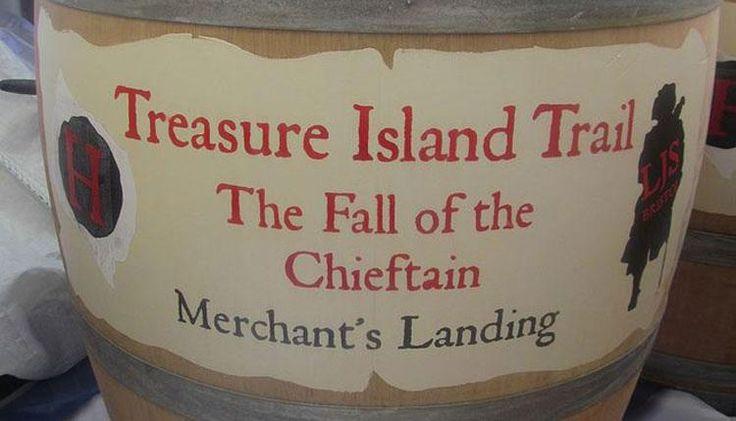 Treasure Island Trail Barrel
