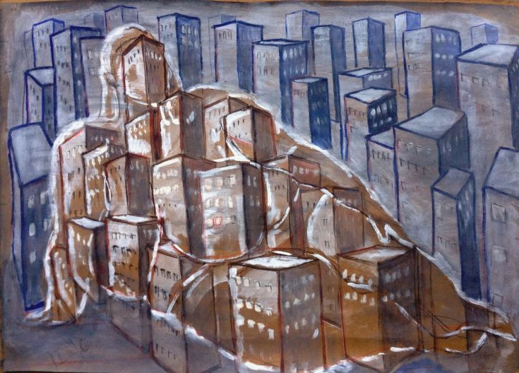Buy Big city, Gouache painting by paolo beneforti on Artfinder. Discover thousands of other original paintings, prints, sculptures and photography from independent artists.
