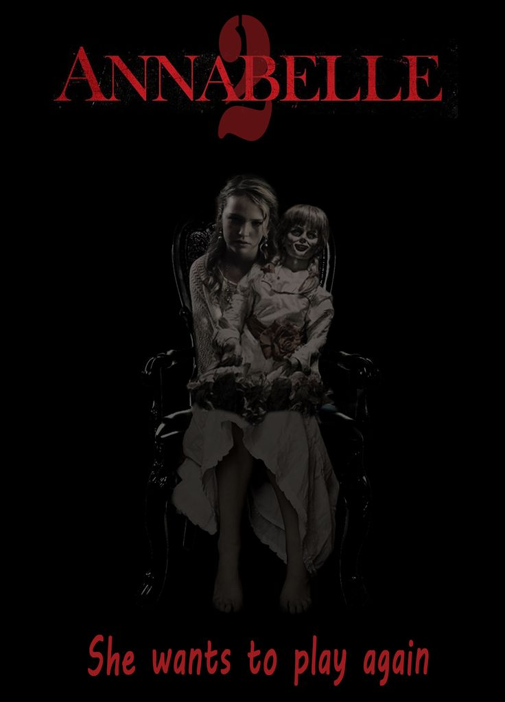 Annabelle 2 poster fan-art.