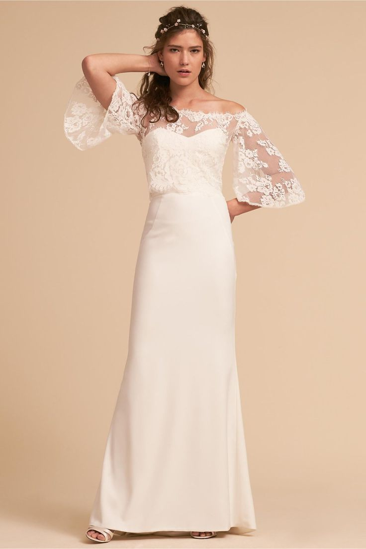 Ava Topper From Bhldn Bridal Outfits Classic Wedding Dress Wedding Dresses [ 1105 x 736 Pixel ]