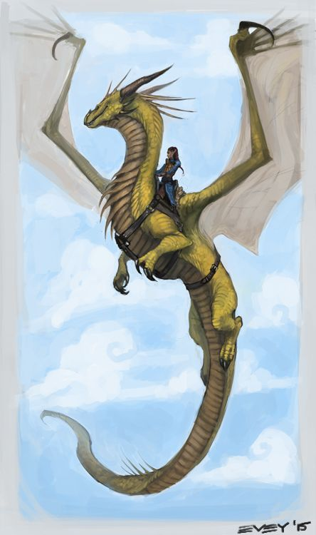Daily Dragons | dragonscratch:   Take flight.  Final part of a...