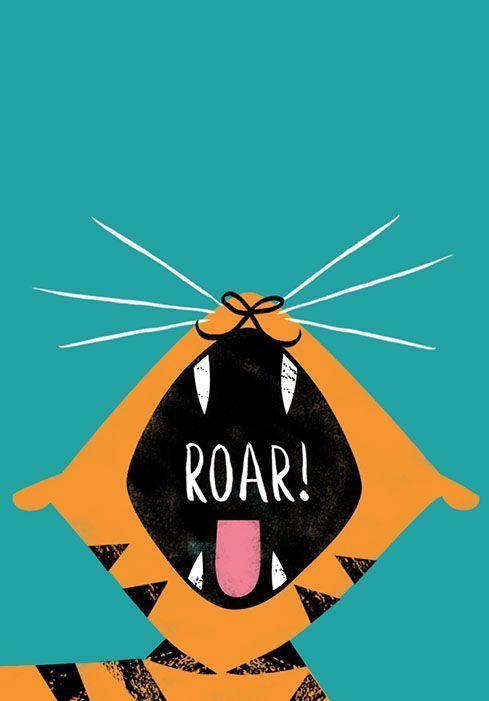 Art for Kids Rooms   Roar!