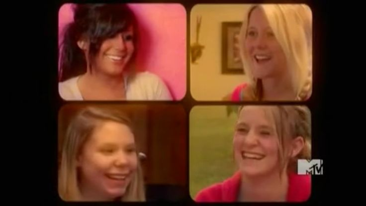 Teen Mom 2 Cast Chelsea, Jenelle, Kailyn and Leah. #teen #mom #teenmom #teenmom2 #mtv #jenelle #kailyn #leah #chelsea #jenelleevans #chelseahouska #kailynlowry #leahmesser #16andpregnant #16andpregnantseason2a