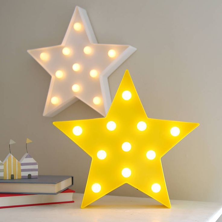 Fun and fabulous decorative lighting.Brighten up any home with these cool LED fun lights versatile and easy to display by hanging on a wall or free standing. Ideal for both kids and adults in three colours - yellow, blue and white. Powered by two AA batteries (not supplied) and have a neat on / off switch on their side. Attractively boxed perfect as an unusual home gift. Indoor use only.Plastic, LED bulbsH32 x W34 x D5cm