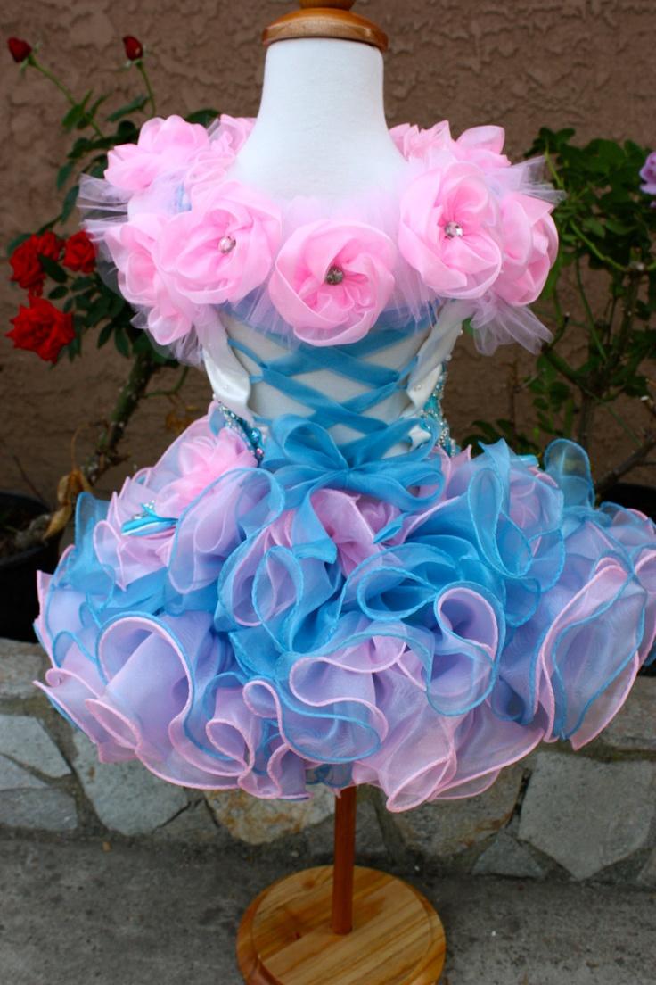 Beautiful glitz cupcake pageant dress by MissMadisonDesigns, $119.99