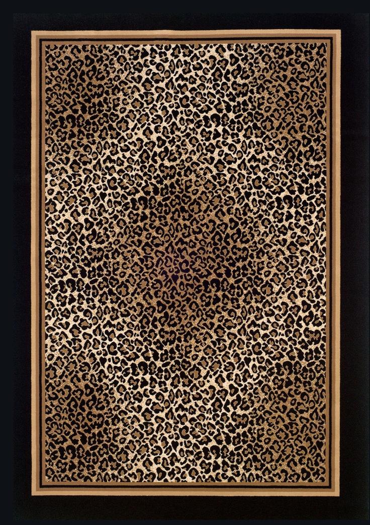 Couristan Everest Leopard Print Area Rug