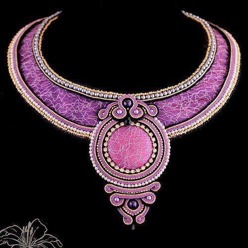 Sutaškový náhrdelník Eleonore