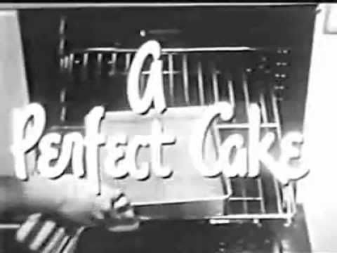 Betty Crocker Cake Mix #2 (1950s) - Classic TV Commercial | 1950's