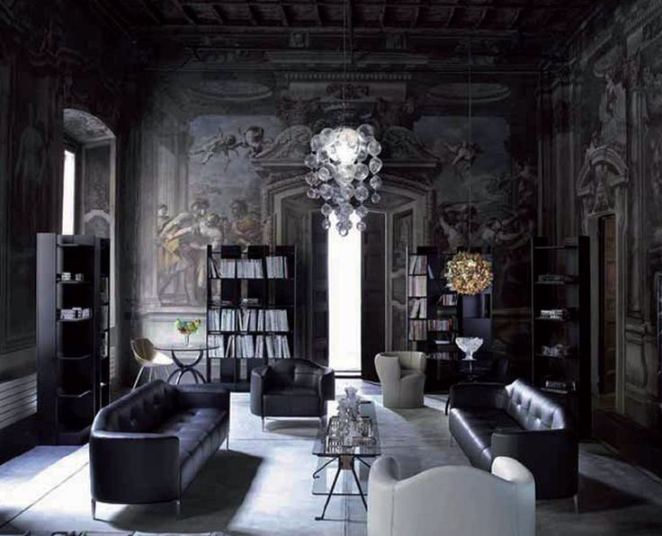 Best 25+ Gothic living rooms ideas on Pinterest