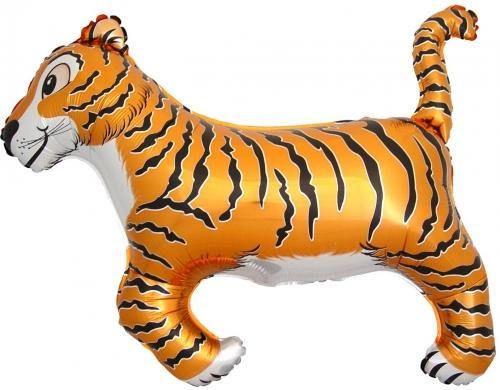 Tiger Balloon Safari Party Zoo Decoration Birthday