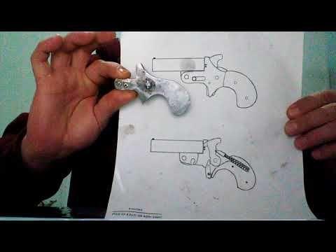 Derringer homemade avance diy - YouTube | Arabic | Homemade