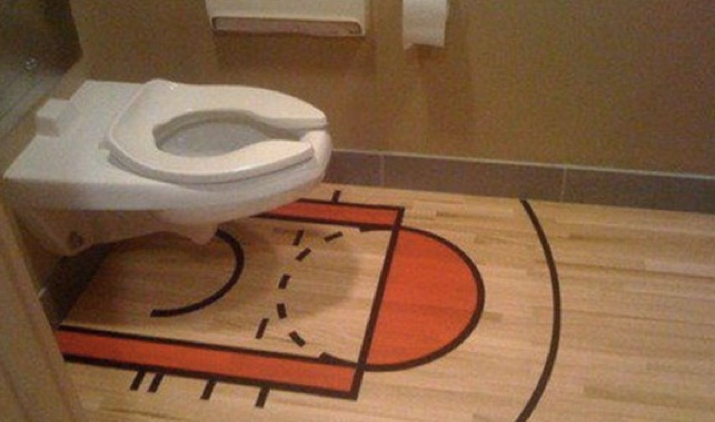 Bad idea......Especially from the 3 point line or from Jimmer range!