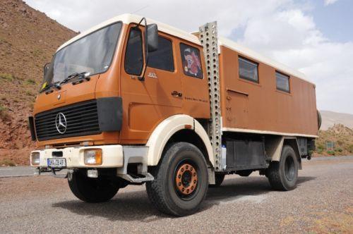 MB 1019 (baugleich 1017) Allrad-Expeditionsmobil für 4 Personen mit Umbau auf  Fernfahrerkabine...,Mercedes Benz MB 1019 4x4 Allrad (1017, 1222, 1113, 911, 917, 814 in Niedersachsen - Hattorf am Harz