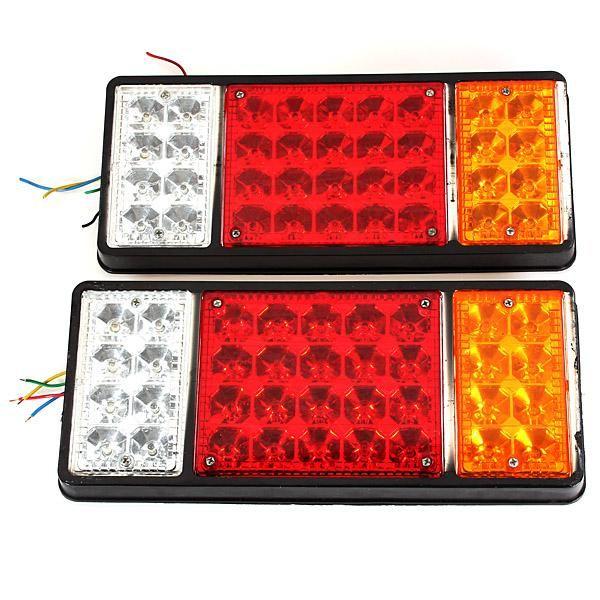 12v Truck Tail Light Led Electronic Rear Light Rail Network Tail Light Light Rail Trucks Light Trailer