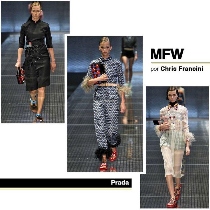 Resumo Semana De Moda De Milão Primavera/Verão 2017 — CHRIS FRANCINI