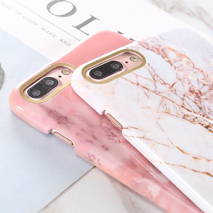 Marble Design With Golden Bar Phone Case For iPhones - Kaptelli Store