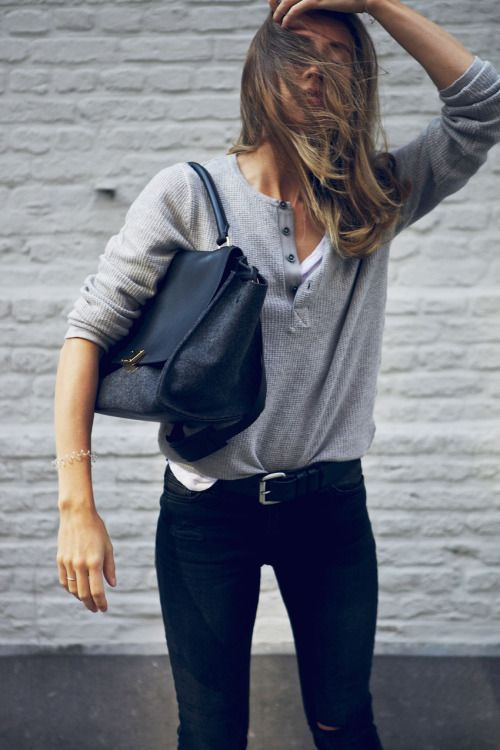 simple everyday style.