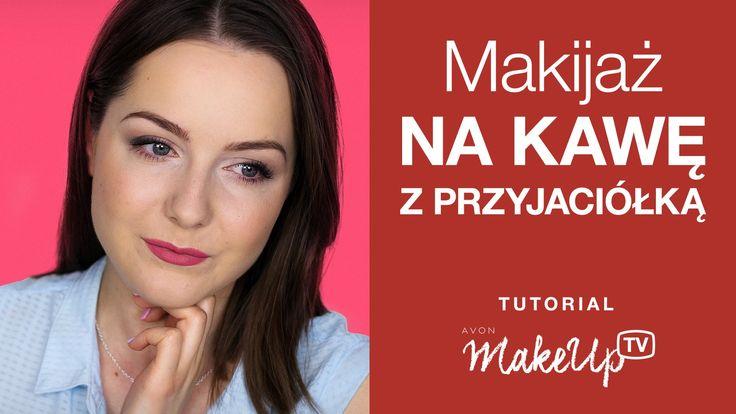 Makijaż codzienny na kawę z przyjaciółką!  (Milena)