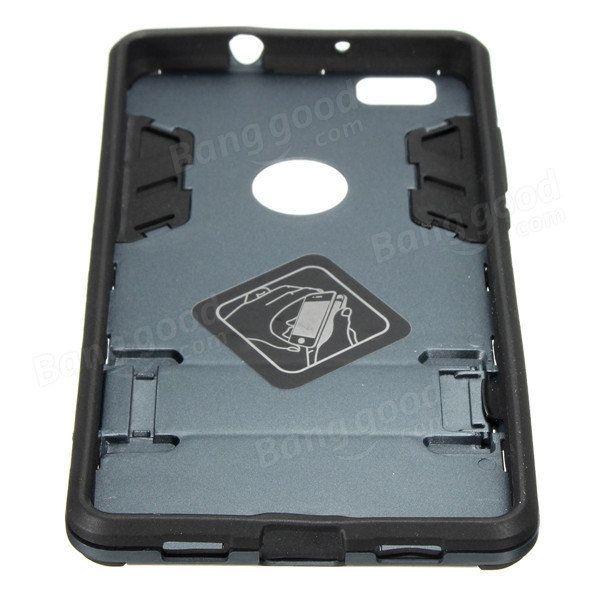TPU+PC Hybrid Shockproof Stand Hard Case Cover For HUAWEI P8 Lite Sale - Banggood.com