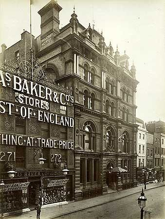 Inns Of Court Hotel, 267 High Holborn, 31 May 1887