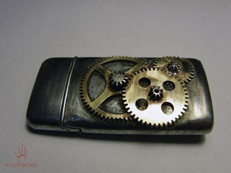 Steampunk zippo lighter